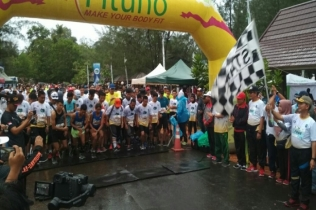 400 Peserta Ramaikan Sungailiat Trail Run 2019